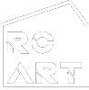 Białe logo RC-Art